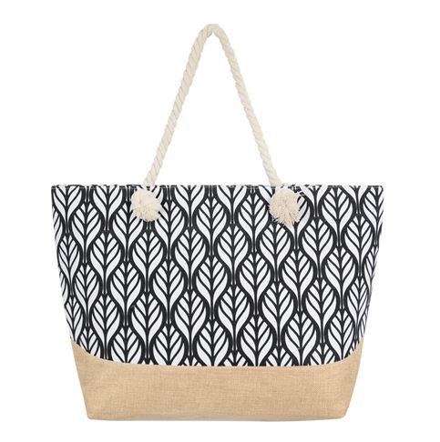 LEAF PRINT TOTE BAG - orangeshine.com