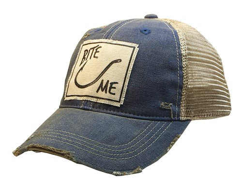 Bite Me Trucker Hat  - orangeshine.com