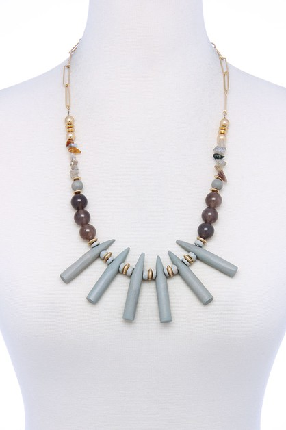 STYLISH FASHION CHUNKY NECKLACE - orangeshine.com