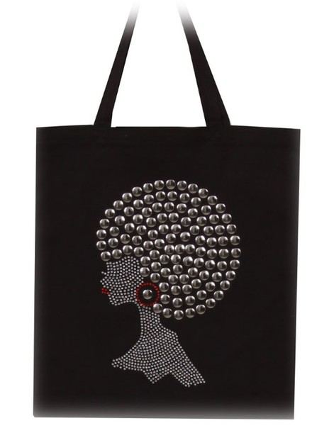New Silver Pompom Hair Afro Girl - orangeshine.com