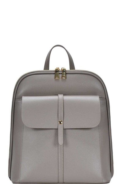 CHIC SEMI GLOSSY BACKPACK - orangeshine.com