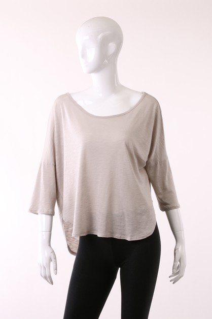 Garment Dye Top - orangeshine.com