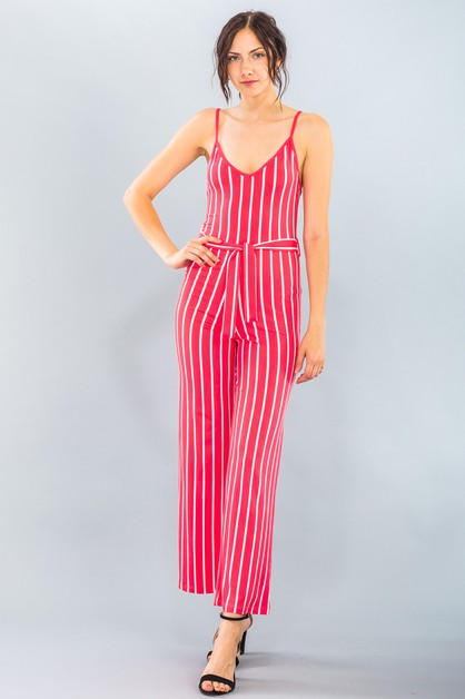 Wide-Leg Cami Jumpsuit - orangeshine.com