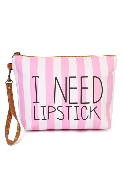 WRISTLET MAKEUP BAG - orangeshine.com