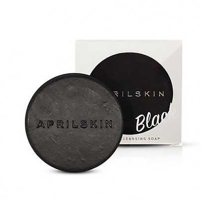 [April Skin] Magic Stone Black Soap - orangeshine.com