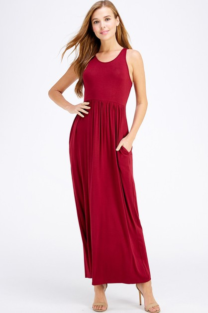 Maxi Tank Dress - orangeshine.com