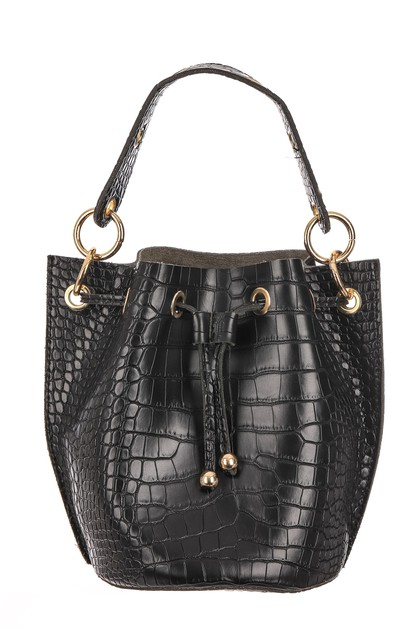 Faux Alligator Skin Purse - orangeshine.com