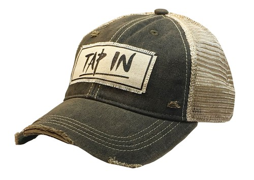 Tap In Trucker Hat  - orangeshine.com