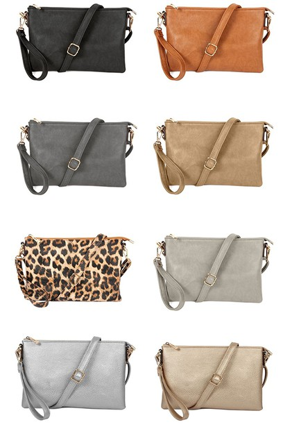 CROSSBODY WRISTLET BAG - orangeshine.com
