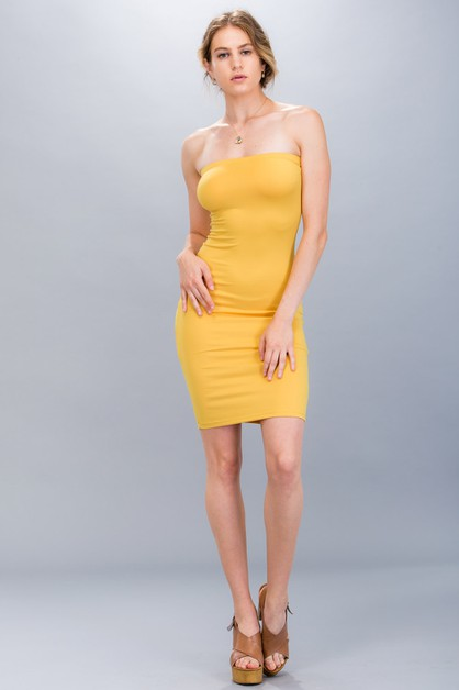 Tube Dress - orangeshine.com