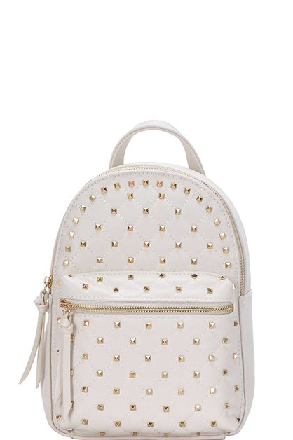 FASHION STUDDED CUTE BACKPACK - orangeshine.com