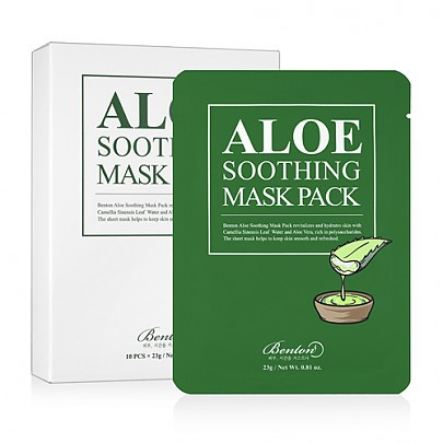 [Benton] ALOE SOOTHING MASK PACK - orangeshine.com