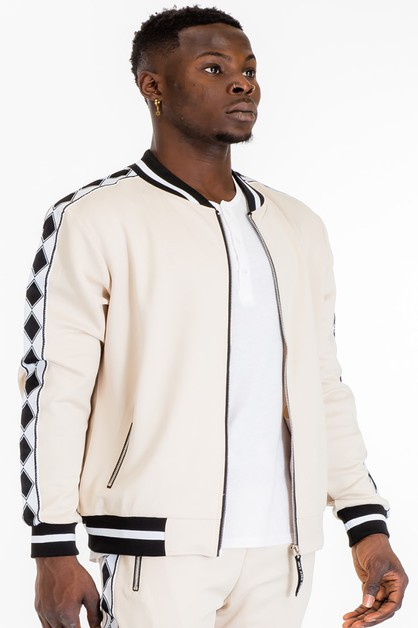 DIAMOND TAPE TRACK JACKET - orangeshine.com
