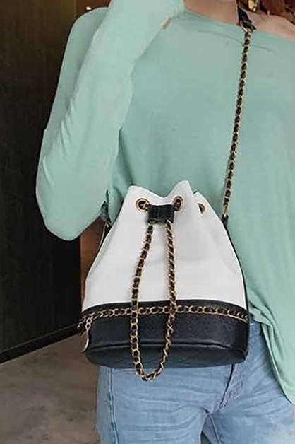 CHAIN SHOULDER BAG - orangeshine.com