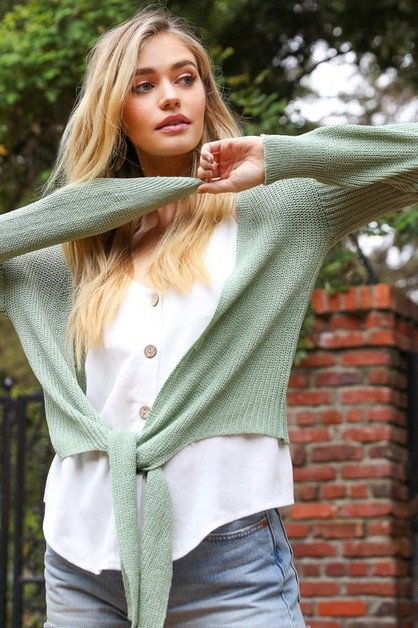 knit sweater cardi - orangeshine.com