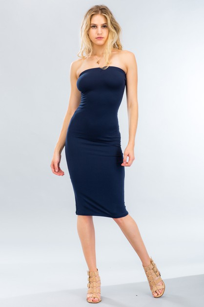 Tube Bodycon Dress - orangeshine.com
