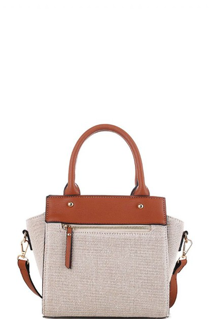 DESIGNER CUTE CANVAS SATCHEL  - orangeshine.com