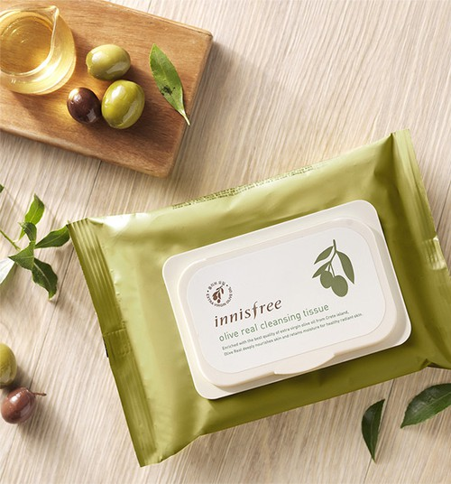 [Innisfree] Olive Cleansing Tissue - orangeshine.com