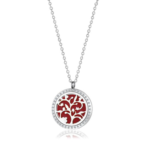 LARGE CHERRY BLOSSOM NECKLACE - orangeshine.com