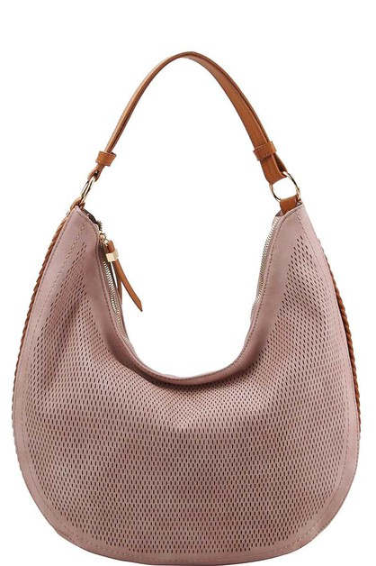 FASHION MESH FRONT CHIC HOBO BAG - orangeshine.com