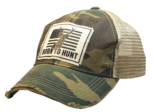 Born To Hunt Trucker Hat - orangeshine.com