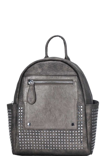 DESIGNER CUTE STUDDED BACKPACK - orangeshine.com