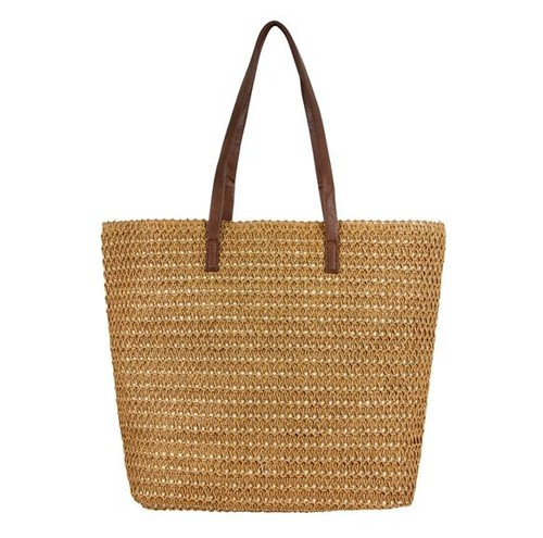 STRAW TOTE BAG - orangeshine.com