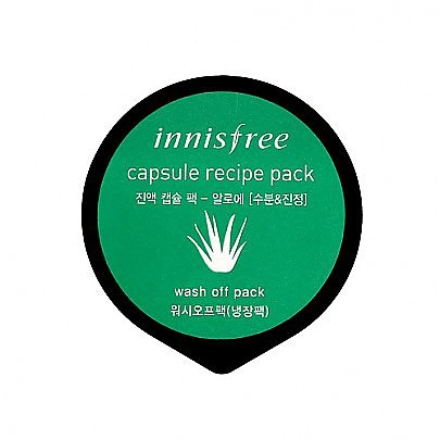 [Innisfree] Capsule Recipe pack Aloe - orangeshine.com