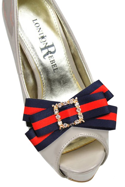 Fashion Bow Strap Shoe Accessory - orangeshine.com