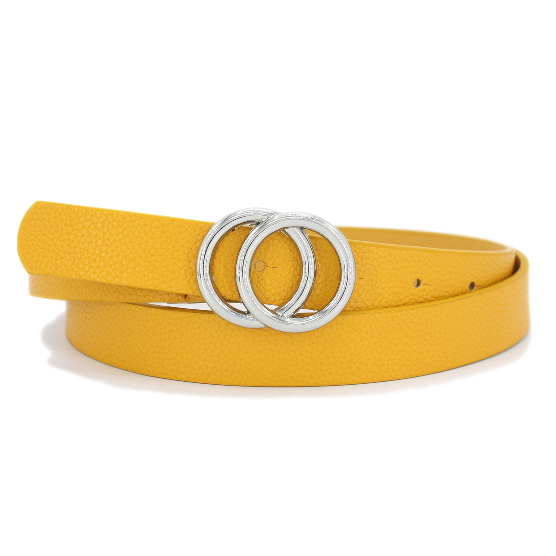 Matt Soft Faux Leather Belt - orangeshine.com