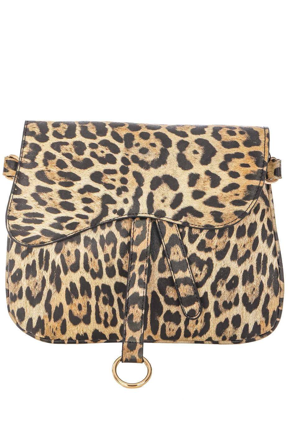 Animal Print Wavy Side Bag - orangeshine.com