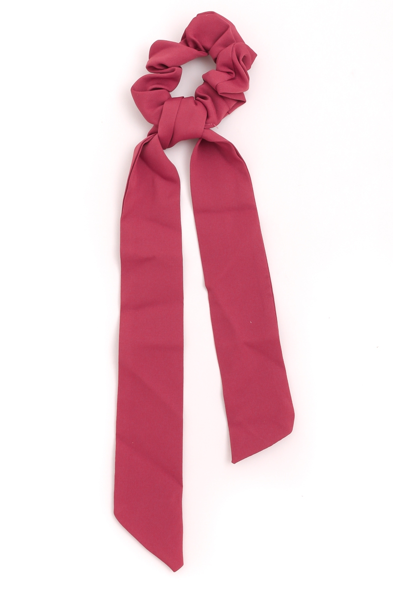 Soft Long Tail Scrunchie - orangeshine.com