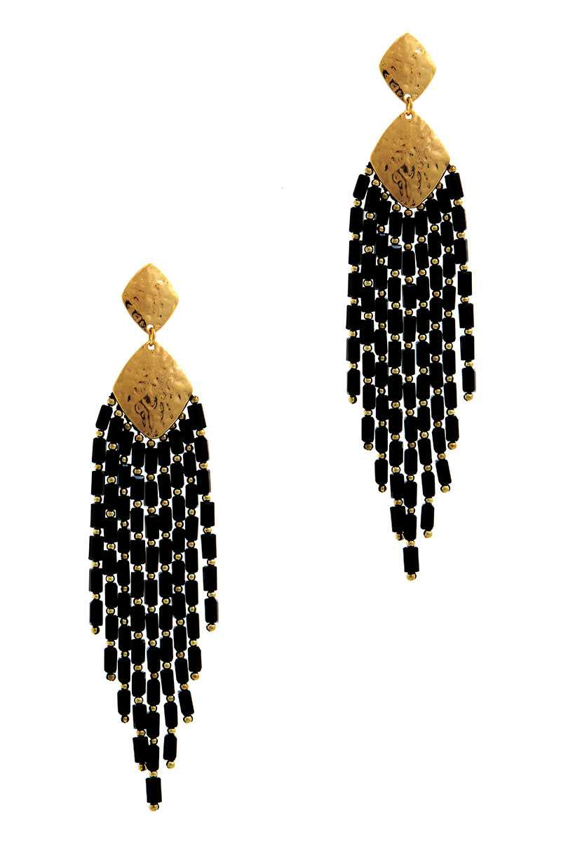 DESIGNER FASHION MULTI DROP EARRING - orangeshine.com