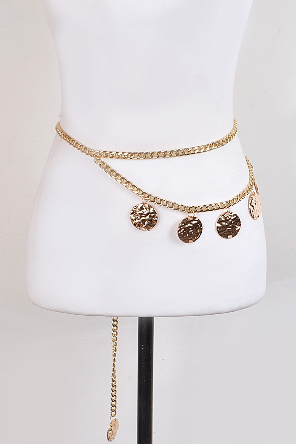 GOLD CHAIN BELT - orangeshine.com