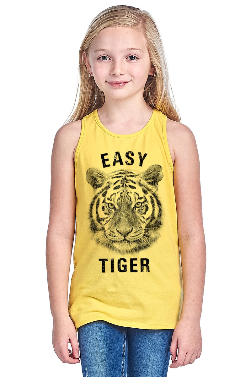KIDS RACER BACK TANK - orangeshine.com