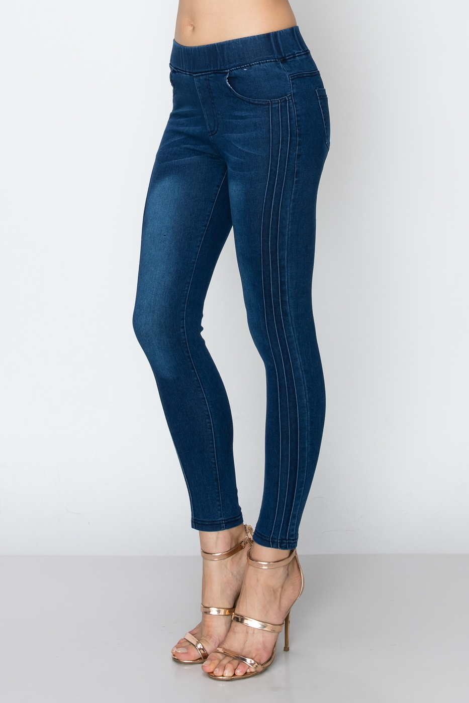 Women Stretch denim Jeggings - orangeshine.com