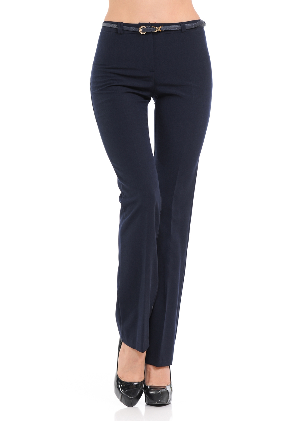 Basic Solid full length pants in a s - orangeshine.com