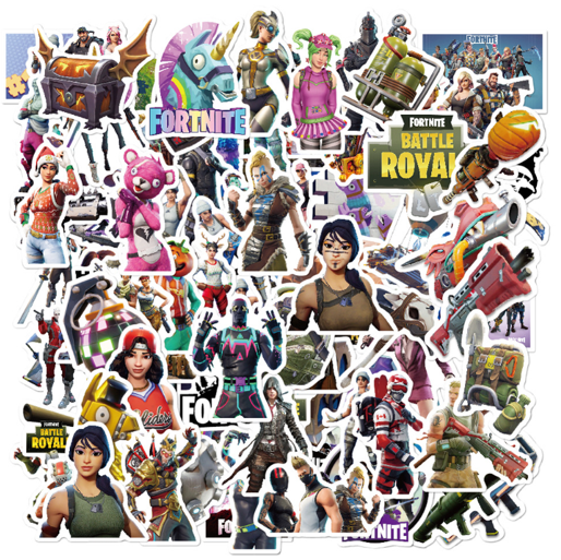 Gaming Stickers for Kids- 104 pcs - orangeshine.com