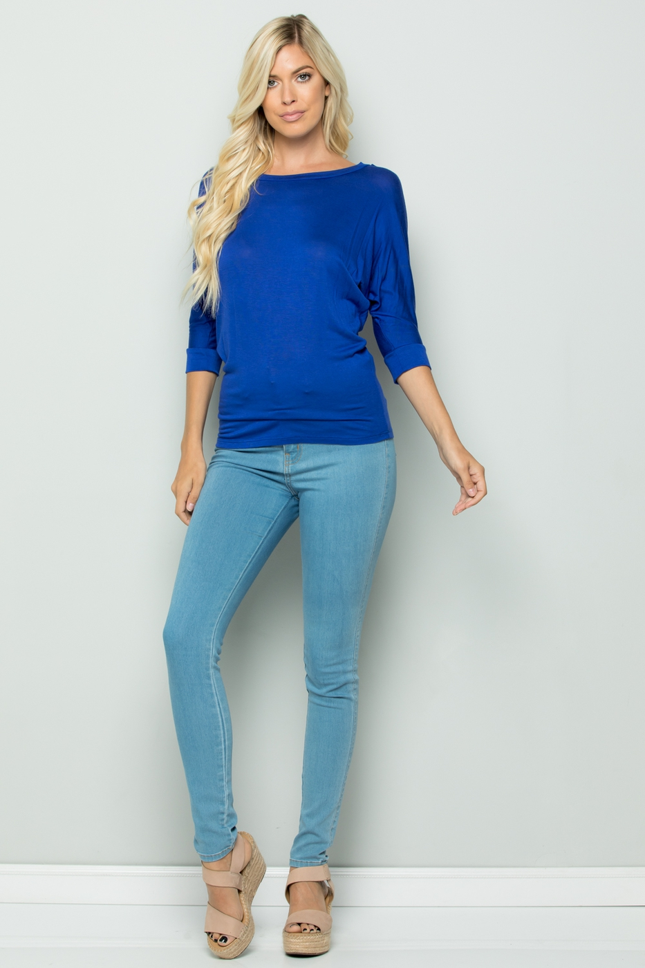 Basic Dolman Top - orangeshine.com