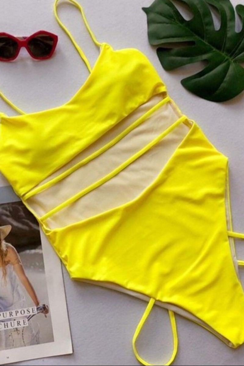 Swim Wear One Piece 053 - orangeshine.com