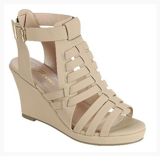 Wedge Platform Ankle Strap Sandals - orangeshine.com
