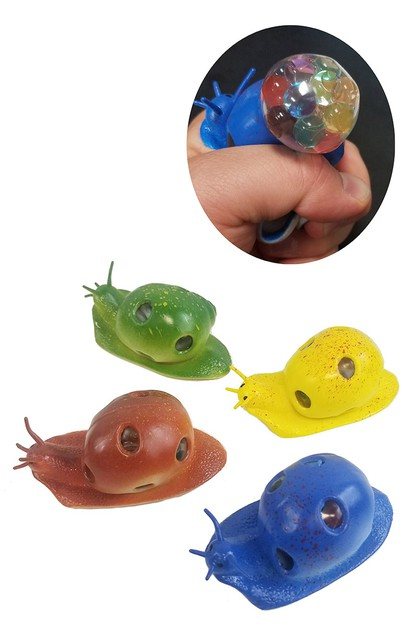 Snail Anti-Stress Squishy Mesh Ball - orangeshine.com
