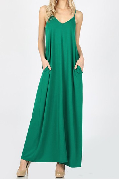 Cami maxi dress  - orangeshine.com
