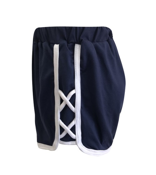 Kids Solid Cross Shorts Sports Girls - orangeshine.com