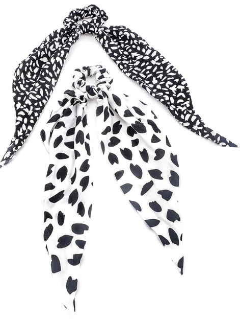 Snow Leopard Scrunchie Scarves - orangeshine.com