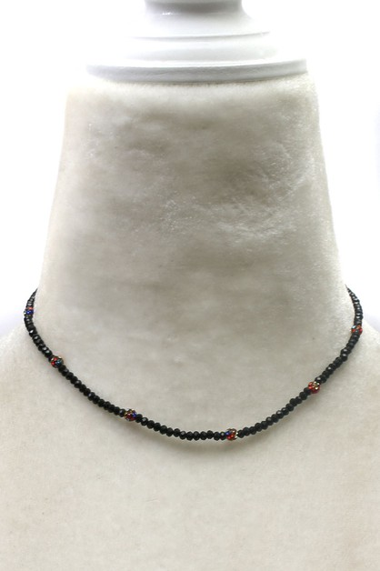 BEAD NECKLACE   - orangeshine.com