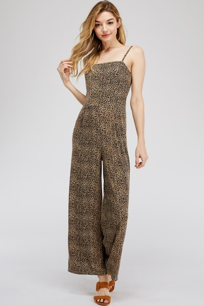 ANIMAL PRINT JUMPSUIT - orangeshine.com