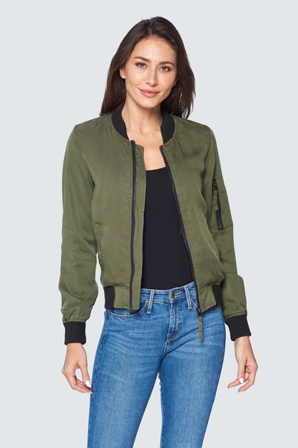 MILITARY BOMBER JACKET - orangeshine.com
