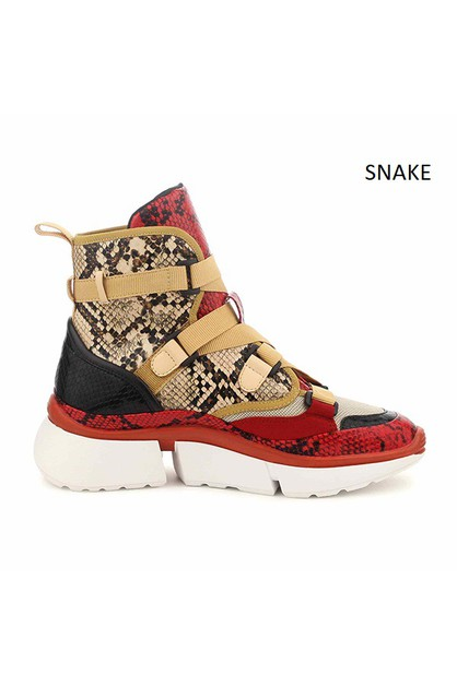 HIGH TOP SNEAKERS - orangeshine.com