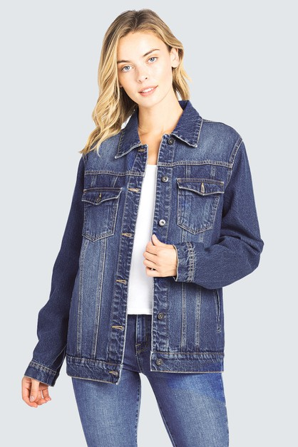 JEAN JACKET OVERSIZED - orangeshine.com
